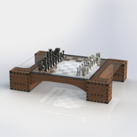 Lasered Chess
